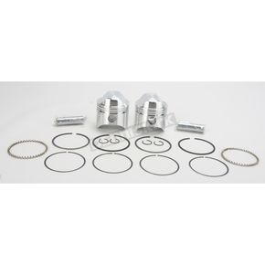 Wiseco High-Performance Forged Piston Kit - 3.188 in. Bore/10:1 Ratio - K1600