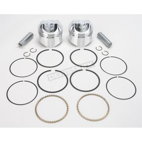 Wiseco High-Performance Forged Piston Kit - 3.517 in. Bore/9.5:1 Ratio - K1625