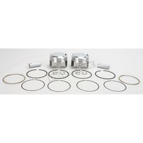 Wiseco High-Performance Forged Piston Kit - 3.518 in. Bore/10:1 Ratio - K1667