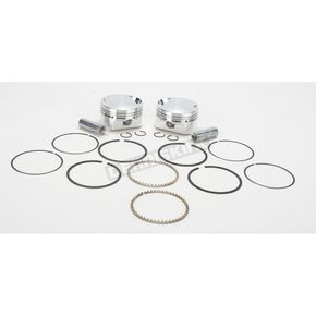 Wiseco High-Performance Forged Piston Kit - 3.498 in. Bore/10.5:1 Ratio - K1685