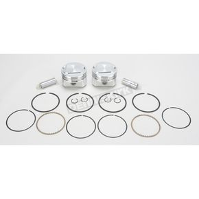 Wiseco High-Performance Forged Piston Kit - 3.518 in. Bore/10.5:1 Ratio - K1716