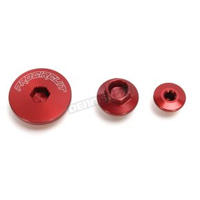 Pro Circuit Red Anodized Engine Plug Kit - PC4009-0014