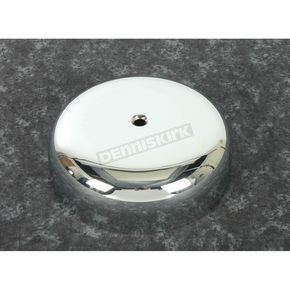 Chrome 7 in. Smooth Air Cleaner Cover - 34-1041