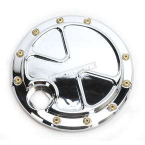Carl Brouhard Designs Chrome Bomber Series Fuel Door - BS-FD-C