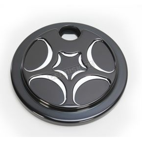 Black Spiro Series Fuel Door - SS-FD-B