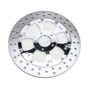 RC Components Chrome 11.8 in. Front Right Majestic Floating Brake Rotor - ZSSFLT117102CRF