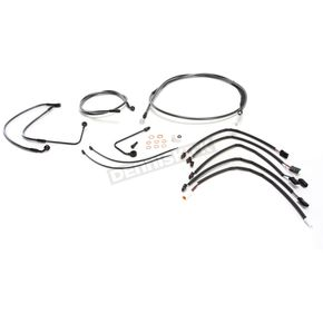 Magnum Black Pearl Designer Series Handlebar Installation Kit for use w/18 in.-20 in. Ape Hangers w/ABS - 487783