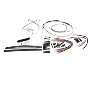 Stainless XR Handlebar Installation Kit for use w/15