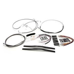 Stainless XR Handlebar Installation Kit for use w/12