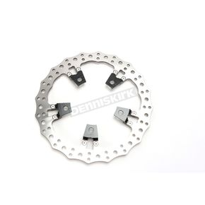 14 in. Left Side Big Brake Jagged Floating Rotor Kit - 02-950