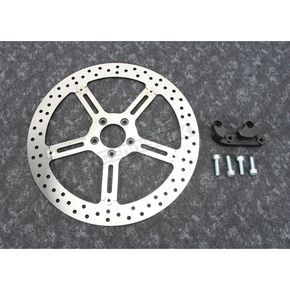 Big Brake Floating Left Side Brake Rotor Kit - 02-983