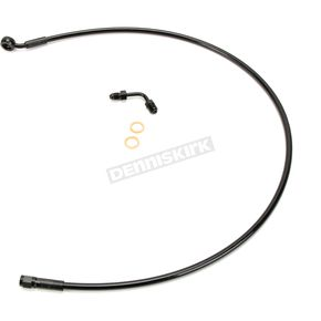 Black XR Stainless Extreme Response DOT Upper Brake Line +10 - SBB1507-32