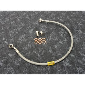 Stainless Steel Rear Brake Line - FK003D186R