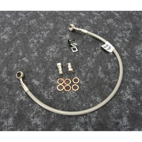 Stainless Steel Rear Brake Line - FK003D242R