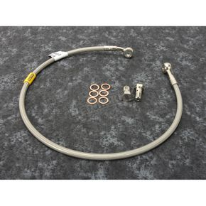 Stainless Steel Rear Brake Line - FK003D253R