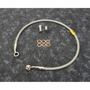 Stainless Steel Rear Brake Line - FK003D281R