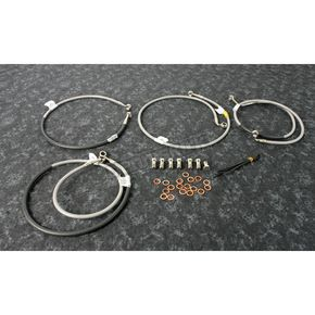 Stainless Steel Brake Line Kit - FK003D871-4
