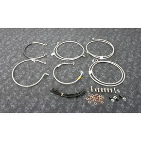 Stainless Steel Brake Line Kit - FK003D873-6