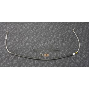 Stainless Steel Front CR Style Brake Line - FK003D198CR