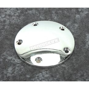 Chrome 5-Hole Domed Ignition System Cover - 42-0119