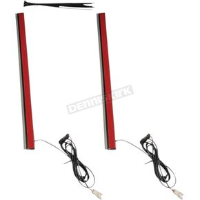 14 in. Plug & Play Red Plasma Rods - PR-PLUG-R-14