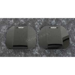 Dark Gray Mirror Mounted Wing Deflectors - N5108