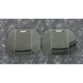 Medium Gray Mirror Mounted Wing Deflectors - N5110