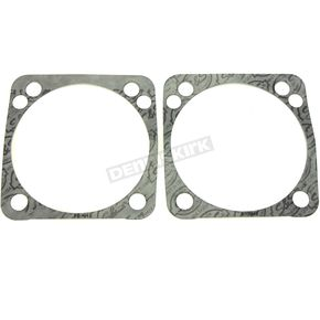 4 1/8 in. Bore Base Gaskets for S&S Twin Cam Style Motors - .018 in. Thick - 930-0099