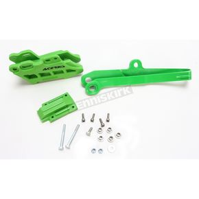 Acerbis Green 2.0 Chain Guide and Slider Set - 2466040006