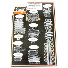 Chrome Polished Allen Show Bike Bolt Kit - 1014-P