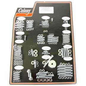 Chrome Polished Allen Show Bike Bolt Kit - 1001-P