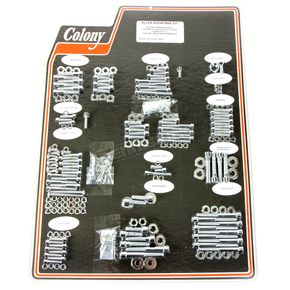 Chrome Polished Allen Show Bike Bolt Kit - 1000-P