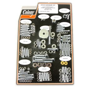 Chrome Polished Allen Show Bike Bolt Kit - 1020-P