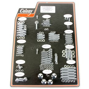 Chrome Polished Allen Show Bike Bolt Kit - 1018-P