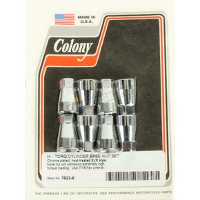Acorn Style Cylinder Base Nut Kit - 7623-8