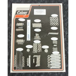 Cadmium Complete Stock Hardware Kit - 8302 CAD