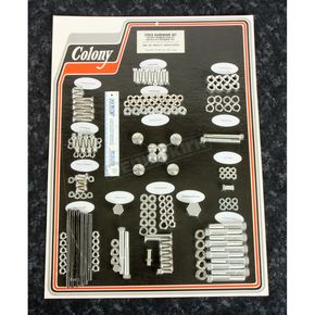 Cadmium Complete Stock Hardware Kit - 8307 CAD