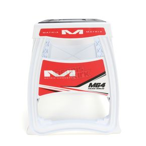 Matrix Concepts Red/White M64 Elite Stand - M64-102