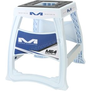 Blue & White Elite Motorcycle Stand 284752 - M64-103