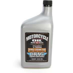 Drag Specialties 20W-50 Full Synthetic Motorcycle Lubricant - 3601-0356