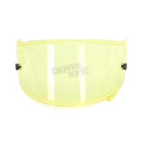 Shoei Helmets Hi-Def Yellow CWR-F Pinlock Evo Shield w/Tear-Off Posts - 0209-9503-00