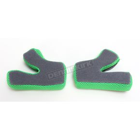 AFX Green FX-17 Cheekpads - 0134-2001