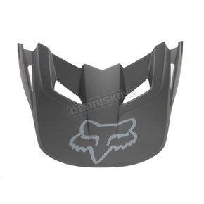 Fox Matte Black Replacement Visor for X-Large/XX-Large V1 Helmets - 07495-255-XL/2XL