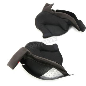 Black Cheek Pads for RPHA-90 Helmets - 20mm  - 1801-026