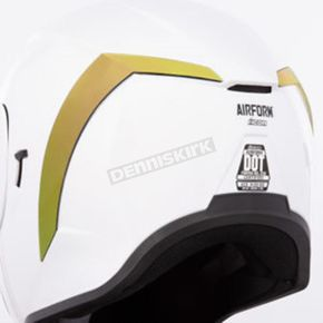 RST Gold Rear Spoiler for the Airform Helmet - 0133-1206