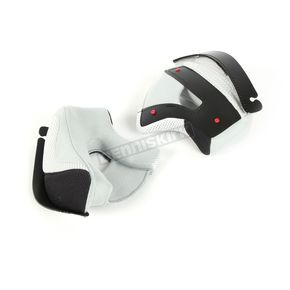 Gray/Black Cheek Pads for i50 Helmets - 35mm - 1302-023