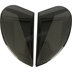 Black Side Plate Kit for the Airform Conflux Helmet - 0133-1214