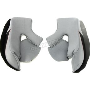 Youth Gray Cheek Pads for RR519Y Helmets - 511602#