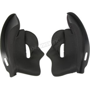 Black Cheek Pads for C70 Helmets - 1210-026