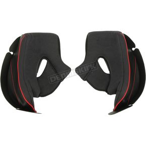 Black Cheek Pads for F70 Helmets - 2002-022